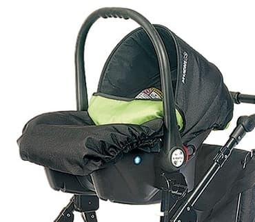 Детско столче за кола 0-9 кг Babyactive - Цвят: Зелен