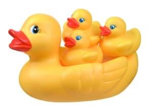 Playgro-Патешко семейство за баня