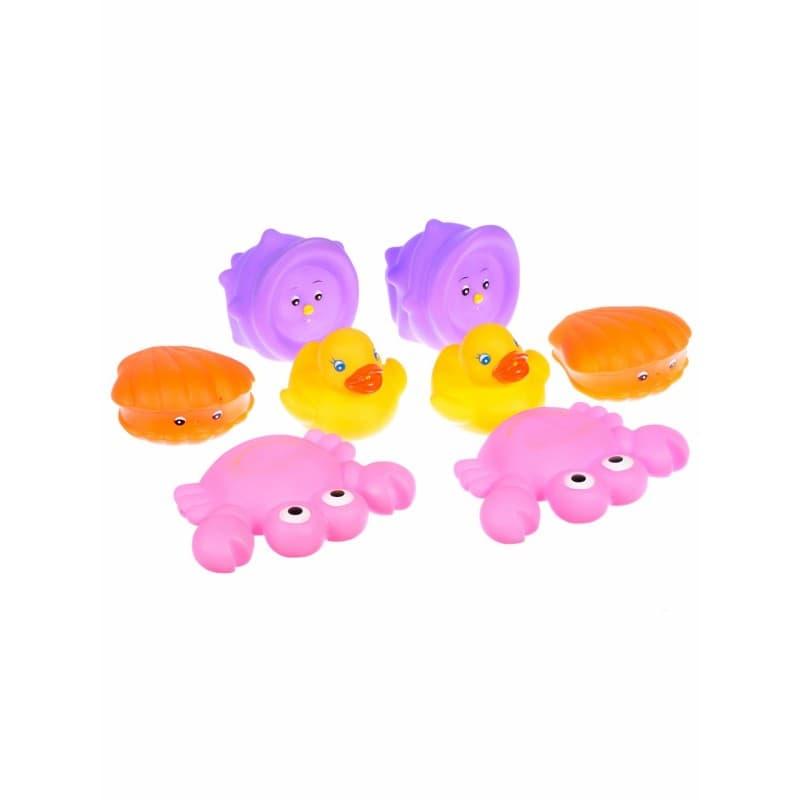Playgro-Играчки за баня 8бр момиче