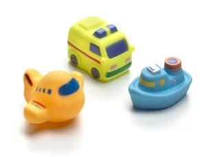 Playgro-Гумени играчки за баня 3бр