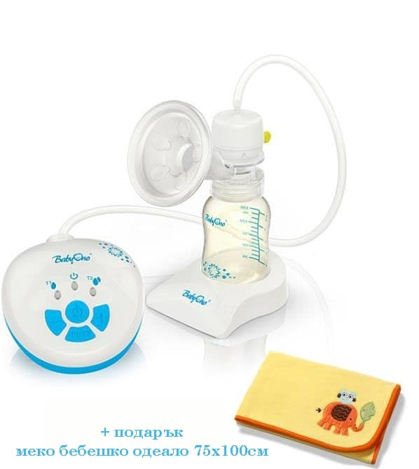 BabyOno-Електрическа помпа за кърма Sensiduo 052