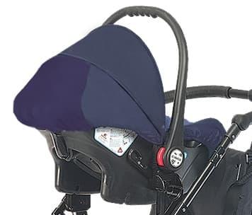 Детско столче за кола 0-9 кг Babyactive - Цвят: тъмно син