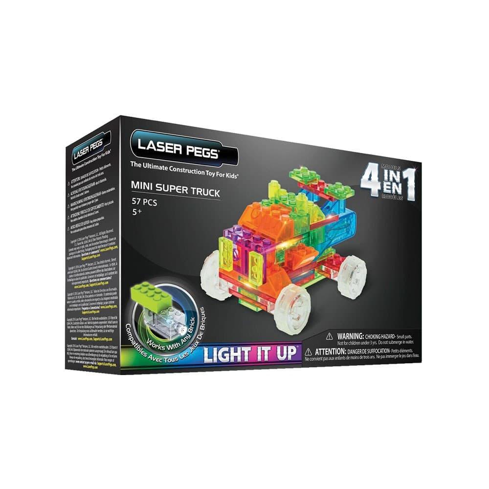 Laser Pegs- Светещ конструктор 4в1 Камион