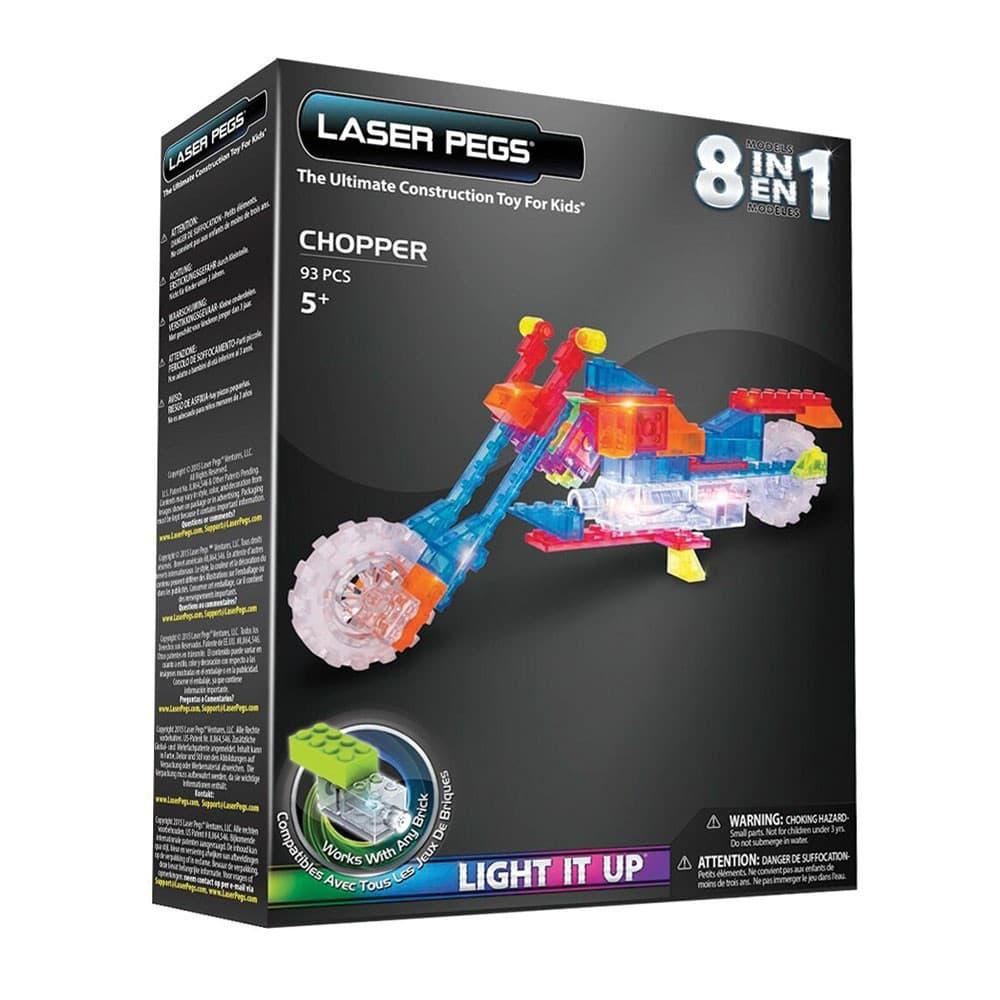 Laser Pegs- Светещ конструктор 8в1 Мотор