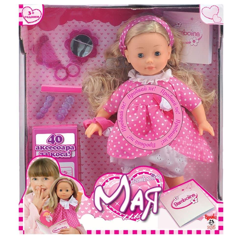 Bambolina-Кукла Мая 40см