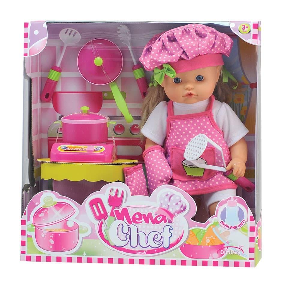 Bambolina-Кукла Nena готвач 42см