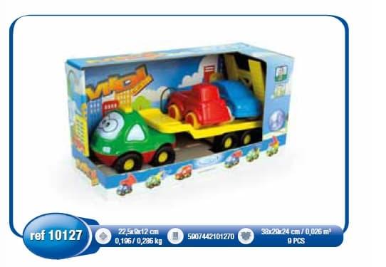 Детска играчка количка с платформа 10127