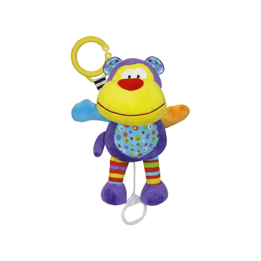 Lorelli-музикална играчка Весела Маймунка