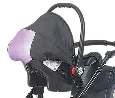 Детско столче за кола 0-9 кг Babyactive - Цвят: Розов