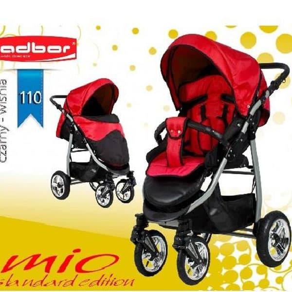 Бебешка комбинирана количка Mio цвят: 110