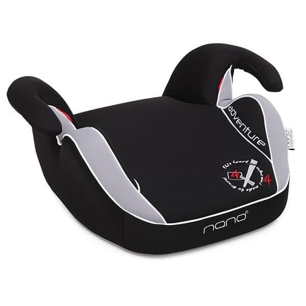 Moni-седалка за кола Adventure 15-36 кг. - Цвят: Сив