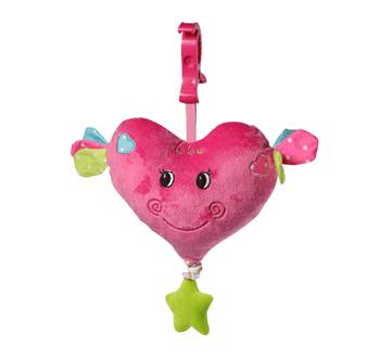 Музикална играчка за количка Сърце 1115