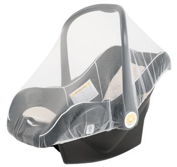 Комарник за бебешко столче