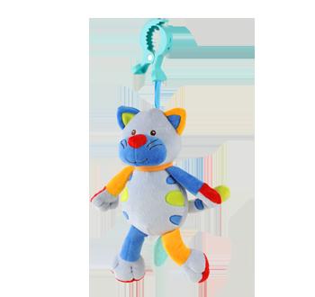 Мека играчка с клипс Смеещо коте