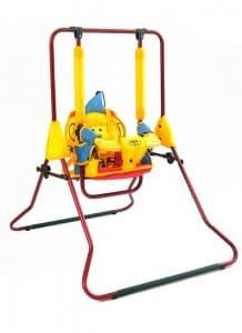 Детска люлка H2 1-3г 0-30кг - Цвят: Жълт