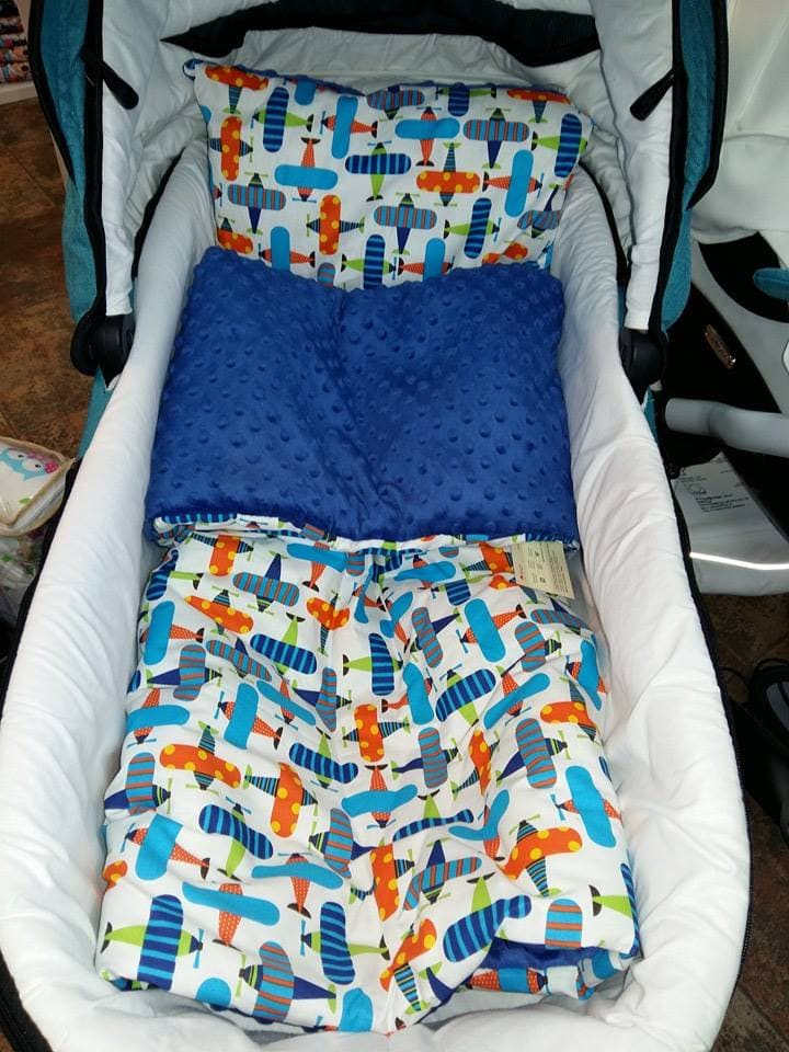 Комплект за количка и легло Minky