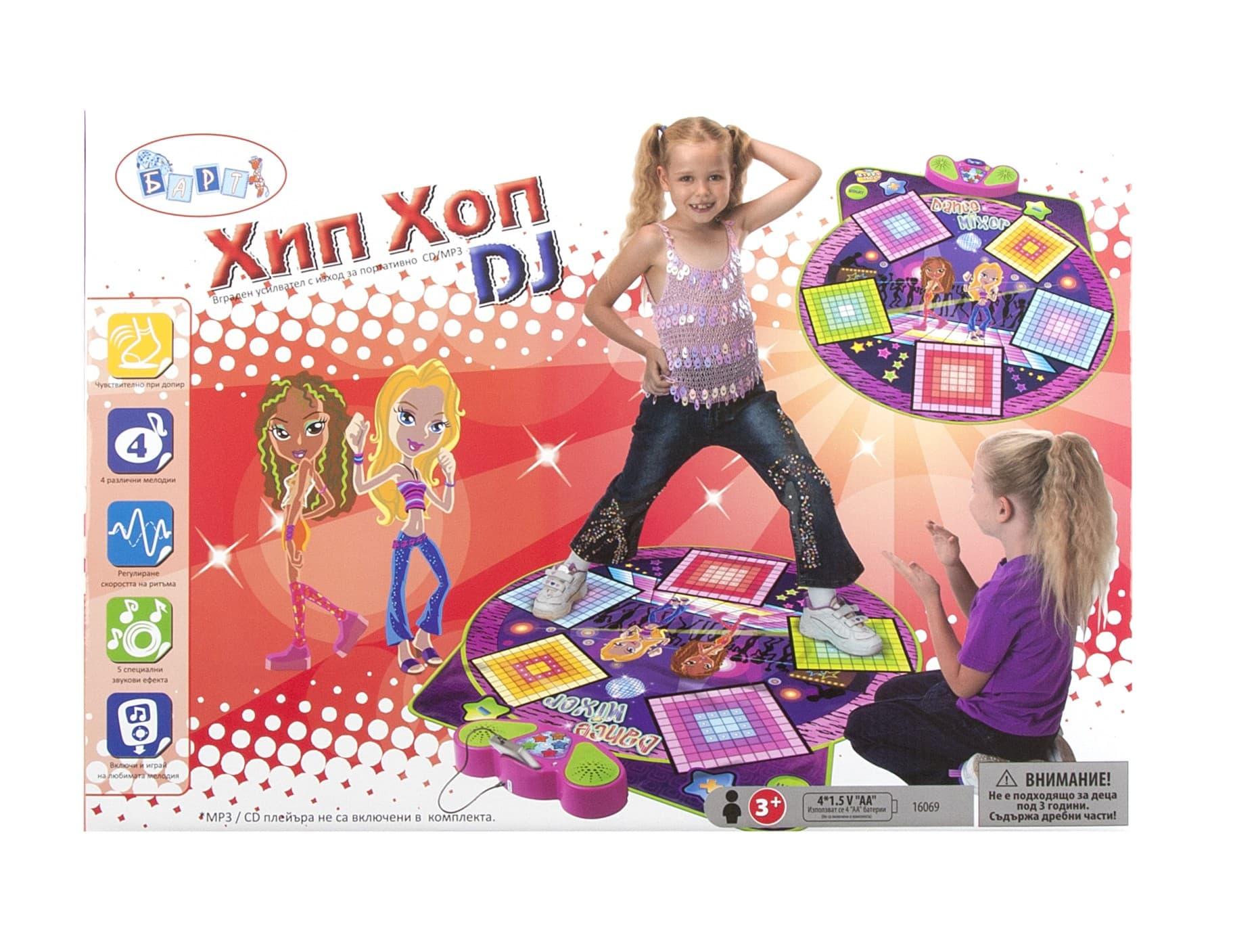 Барт-Музикално килимче Dance mixer
