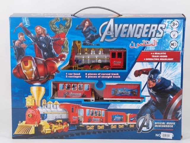 Детско влакче Avengers