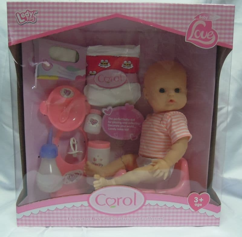 Бебе Carol с аксесоари