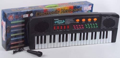 Детско пиано 44 клавиша и микрофон