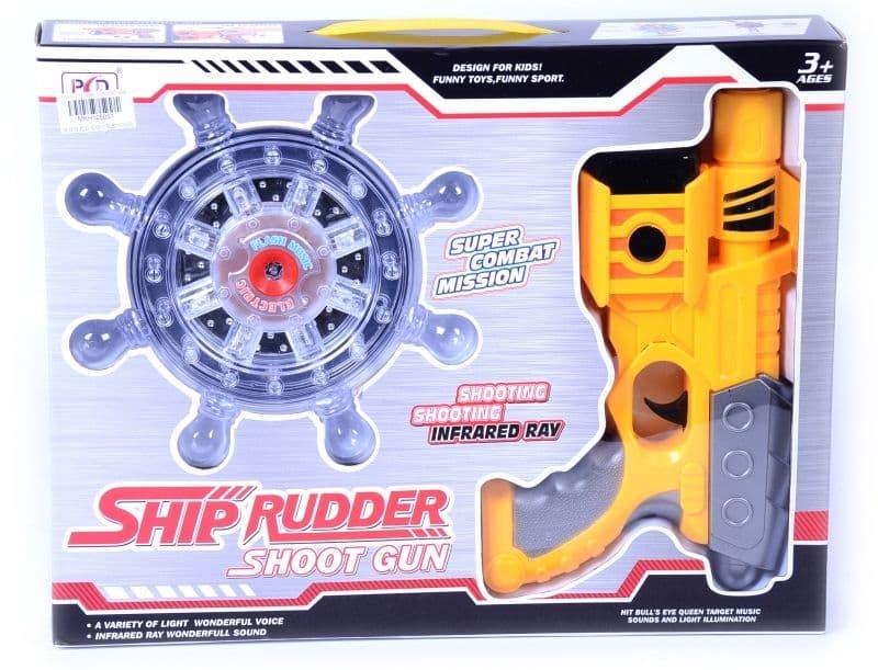 Лазерен пистолет с мишена