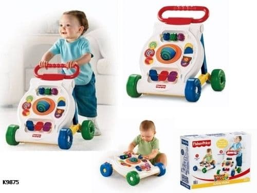 Fisher Price-Музикална активна проходилка