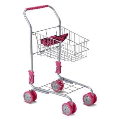 Метална количка за пазаруване