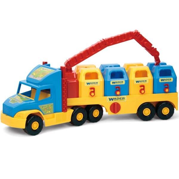 Wader-Камион с контейнери за смет