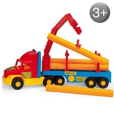 Камион с дървени трупи Wader
