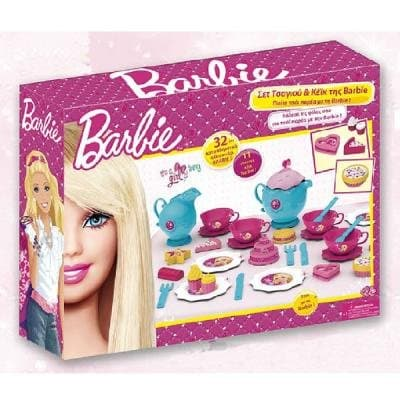 Чаен комплект Barbie