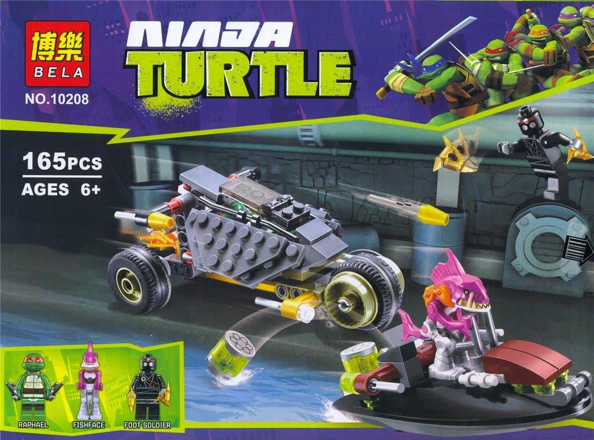 Конструктор 165ч Ninja Turtle