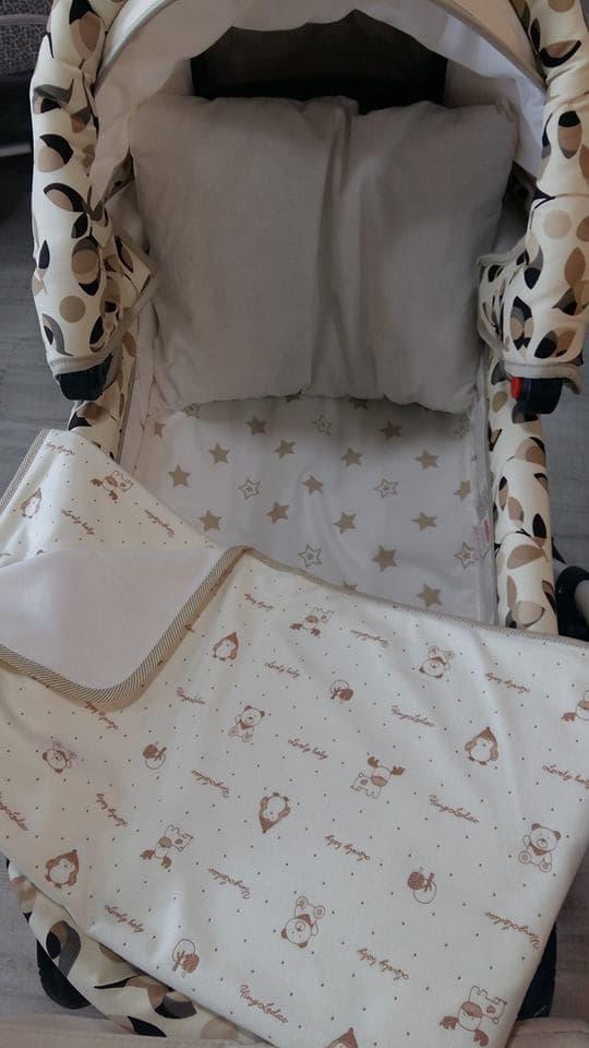 Комплект за количка beige 3 части