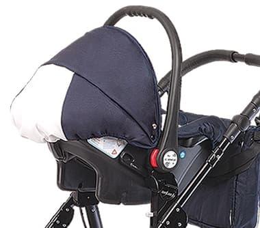 Детско столче за кола 0-9 кг Babyactive - Цвят: Бял