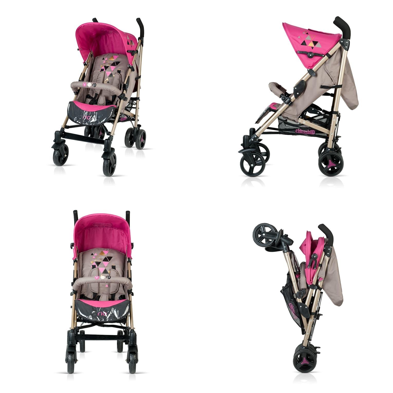 Лятна бебешка количка Рио - Цвят: Розов