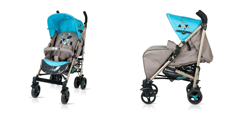 Лятна бебешка количка Рио - Цвят: Син