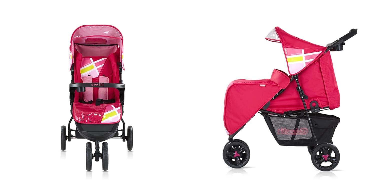 Лятна количка Суифт - Цвят: Розов