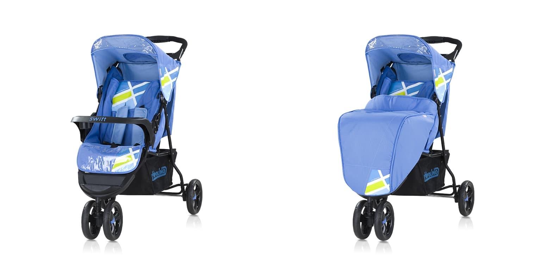Лятна количка Суифт - Цвят: Син