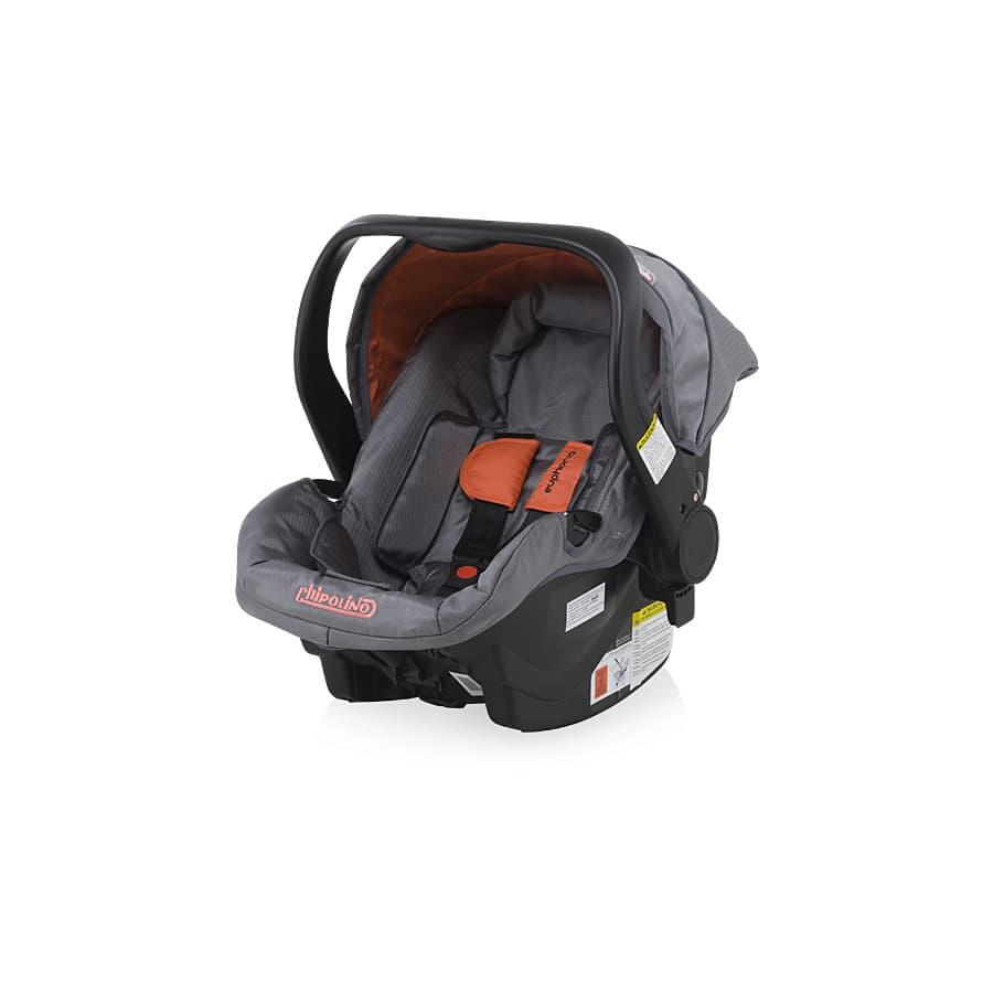 Детско столче - кошница Еуфория 2 - Цвят: Оранжев