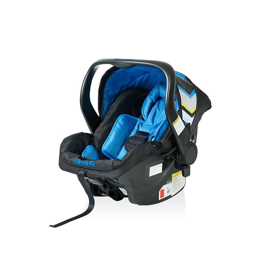 Детско столче за кола Еуфория - Цвят: тъмно син