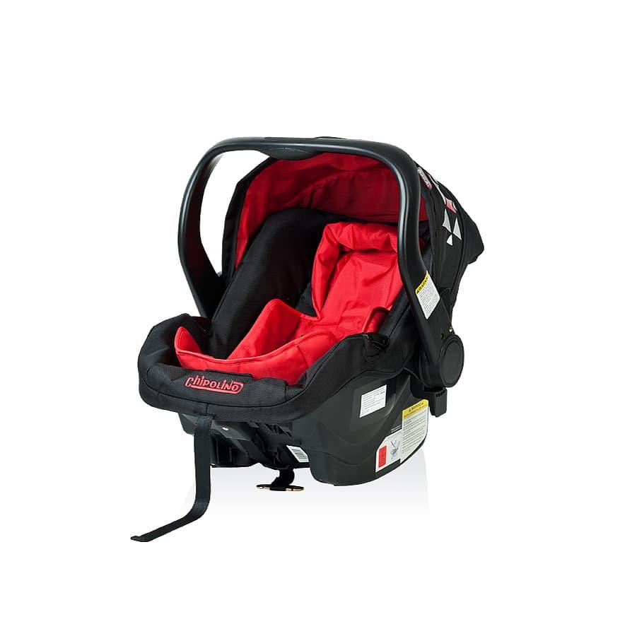 Детско столче за кола Еуфория - Цвят: Червен