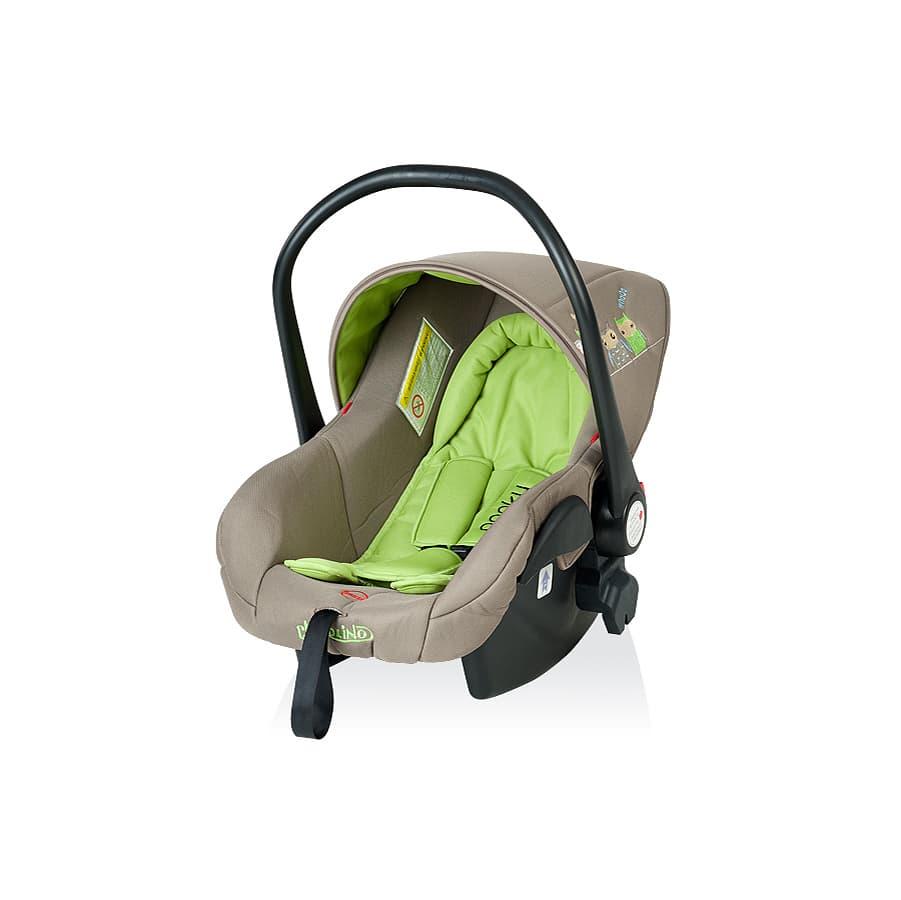 Детско столче за кола ПУКИ 2 - Цвят: Зелен