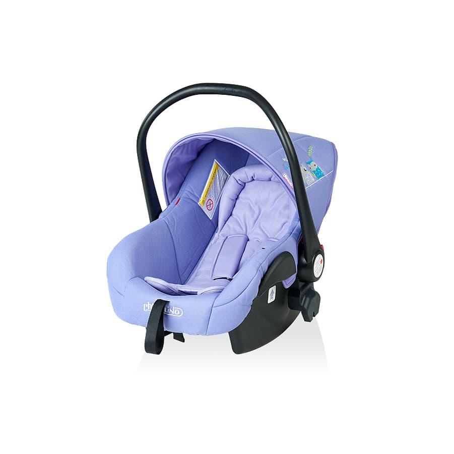 Детско столче за кола ПУКИ 2 - Цвят: Лилав
