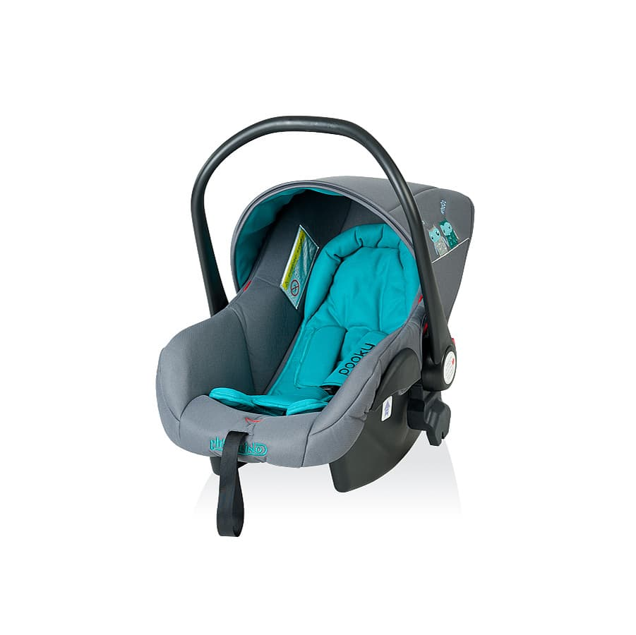 Детско столче за кола ПУКИ 2 - Цвят: Син