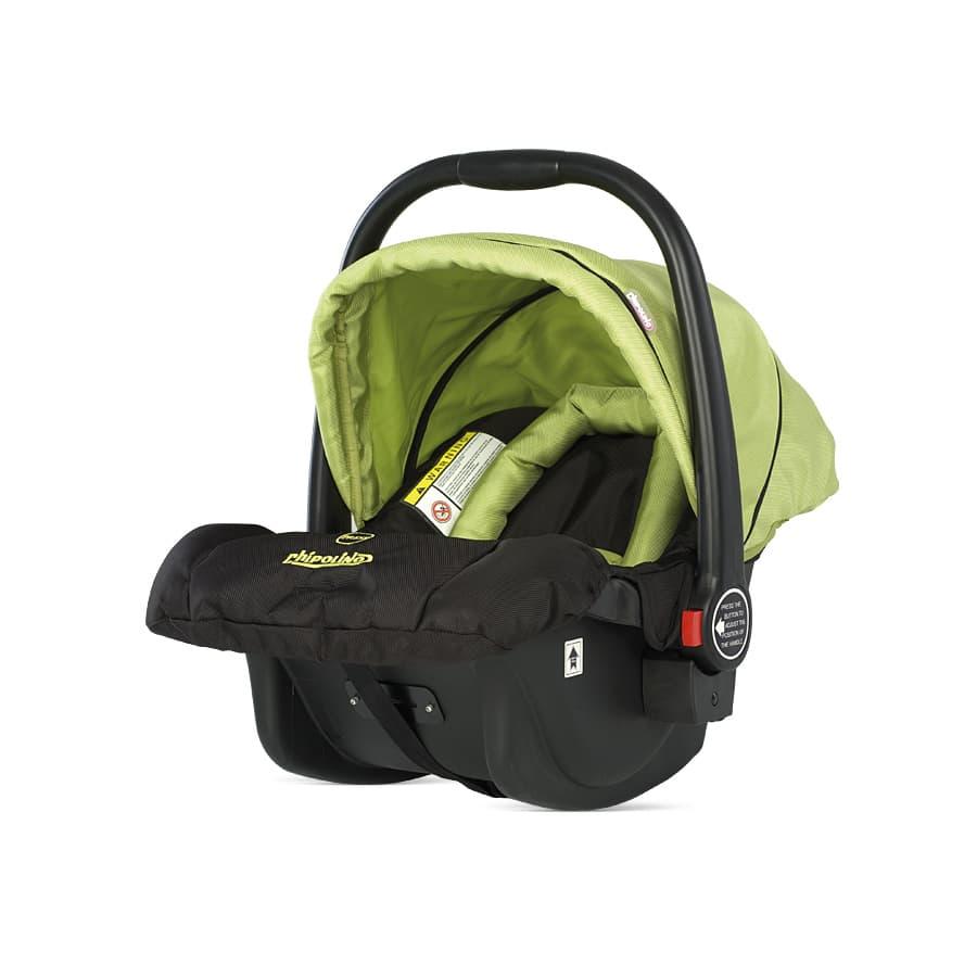 Детски стол кошница Chipolino Maxima - Цвят: Зелен