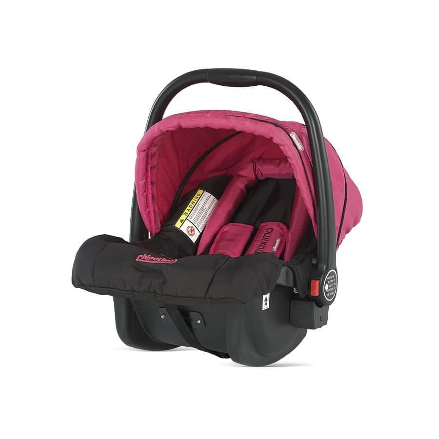 Детски стол кошница Chipolino Maxima - Цвят: Розов
