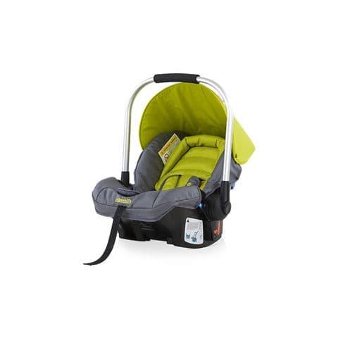 Детско столче-кошница Лумина - Цвят: Зелен