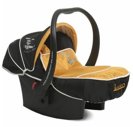 Детско столче за кола Passenger 0-13 кг. - Цвят: Жълт
