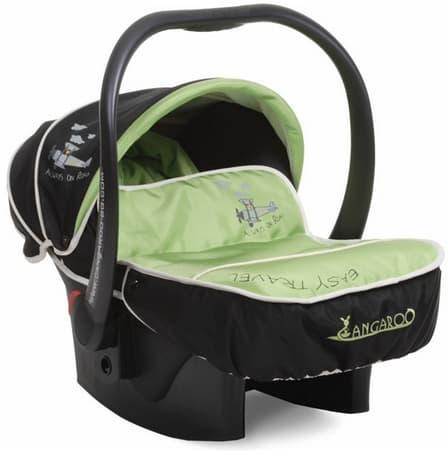 Детско столче за кола Passenger 0-13 кг. - Цвят: Зелен