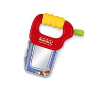 Бебешка дрънкалка с огледало 3-18м Fisher Price