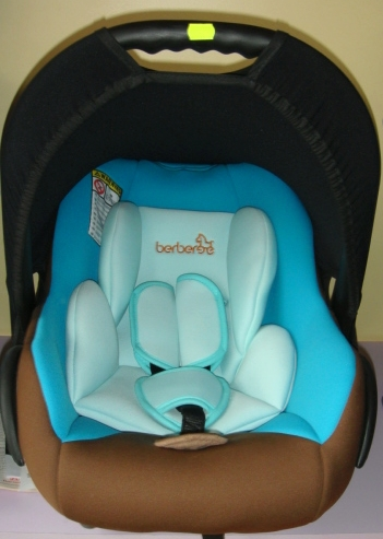 Детско столче за кола 512 Berber 0-10 кг - Цвят: Син